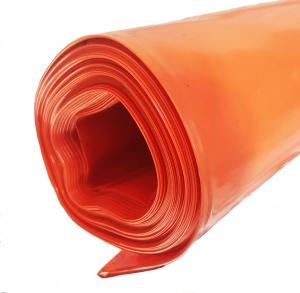 Orange Fire Retardant Poly Tarp