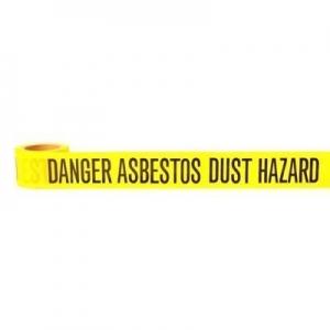PRO CHOICE DADH30075 - 300m Danger Asbestos Dust Hazard Barrier Tape