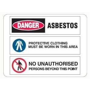 Multi Condition Asbestos Sign