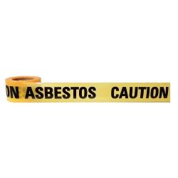 100m Danger Asbestos Dust Hazard Barrier Tape