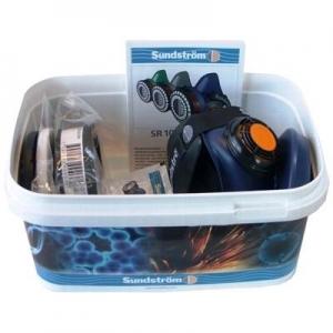 SUNDSTROM SUN171 -  L/XL Half Mask Asbestos Respirator Kit
