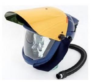SUNDSTROM SR587/580 - Helmet with Gold Visor