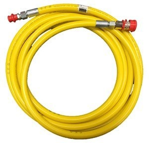SUNDSTROM 202-06039 - 15m x 10mm yellow PVC w- CEJN couplings