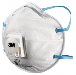 3M 8822 Disposable Respirator 10 Pack