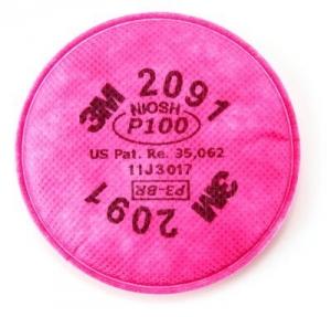 3M 2091 - P100 (NIOSH) Filters Pair